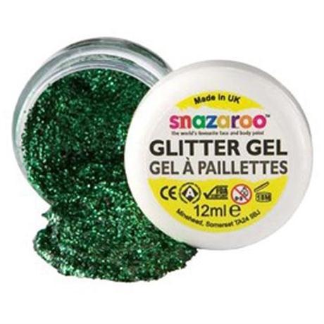 Snazaroo Face Paint Glitter Gels 12ml Pots Image 1