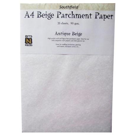 A4 Parchment Paper & Card Packs Image 1