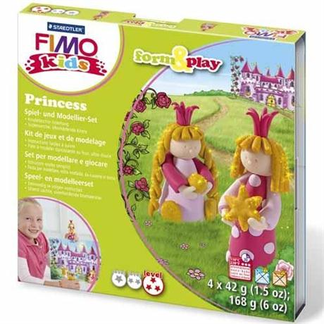 Fimo Kids Form And Play Princess Set Image 1