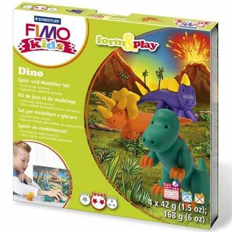 Fimo Kids Form And Play Dino Set Image 1