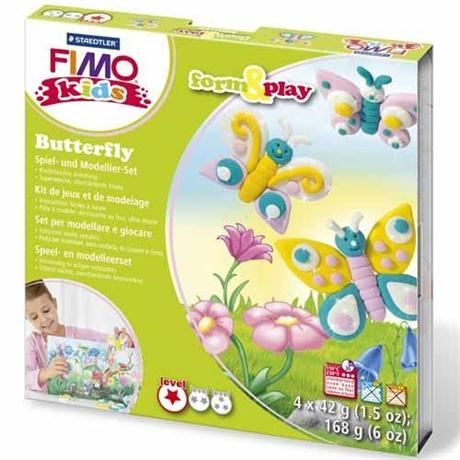 Fimo Kids Form And Play Butterfly Set Image 1