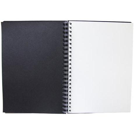 Seawhite Euro Sketchbooks With Alternate Black & White Paper Image 1