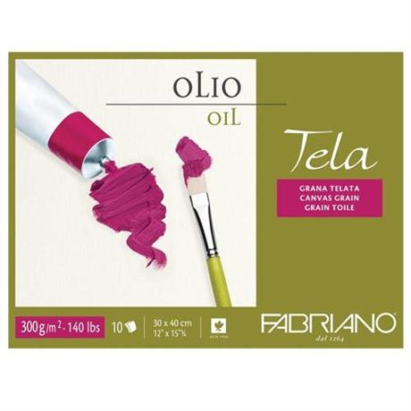Fabriano Tela Oil Blocks Canvas Grain 300gsm Image 1