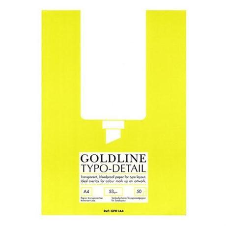 Goldline Typo/Detail Pad Image 1