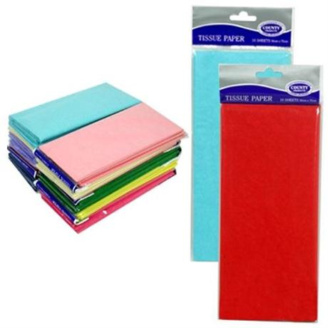 Tissue Paper Packs 5 Sheets 50 x 70cm Image 1