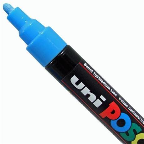 Uni PC-5M Posca Paint Pen - Medium Bullet Nib Image 1