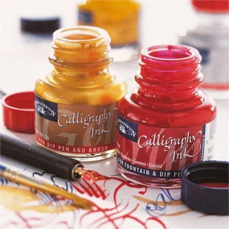 Winsor & Newton Calligraphy Inks 30ml Image 1