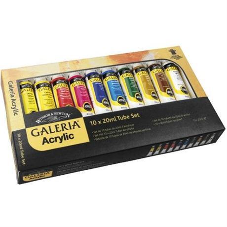 Galeria Acrylic Paint Set 10 x 20ml Tubes Image 1