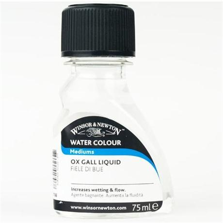 Winsor & Newton Ox Gall Liquid 75ml Image 1
