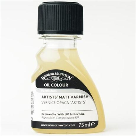 Winsor & Newton Artists' Matt Varnish Image 1