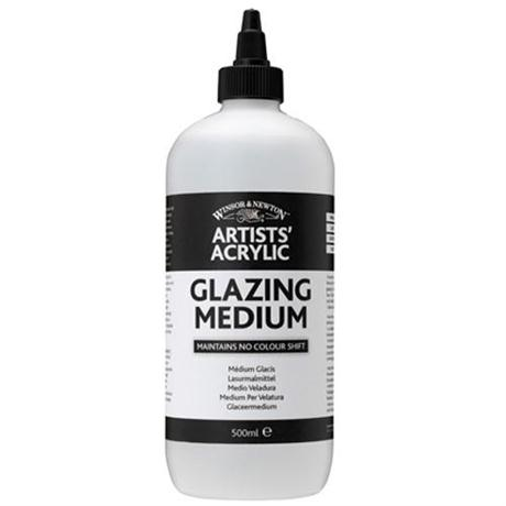 Winsor & Newton Artists' Acrylic Glazing Medium Image 1