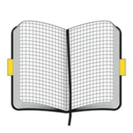 Moleskine Soft Large Squared Journal Notebook Image 1