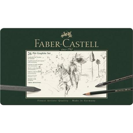 Faber Castell Pitt Graphite Set of 26 items Image 1