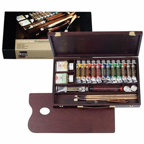 Rembrandt Professional Oil Colour Box Image 1