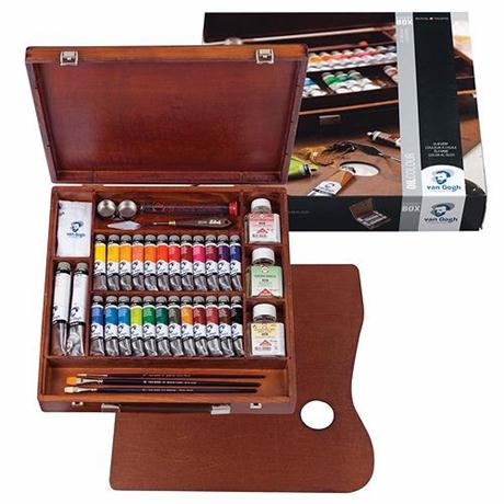 Van Gogh Oil Expert Wooden Box  Image 1