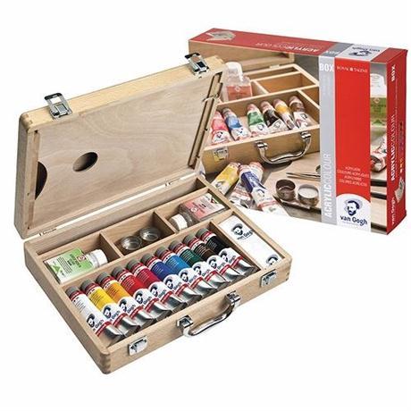 Van Gogh Acrylic Basic Box Image 1