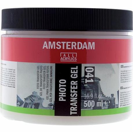 Amsterdam Photo Transfer Gel 500ml Image 1