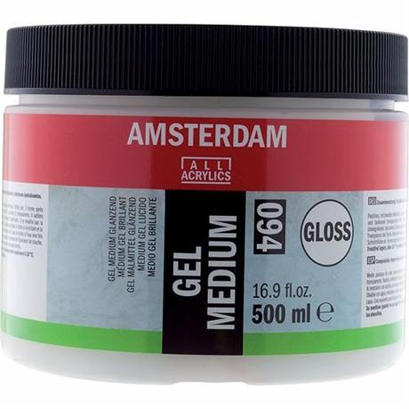 Amsterdam Gel Medium Gloss 500ml Image 1