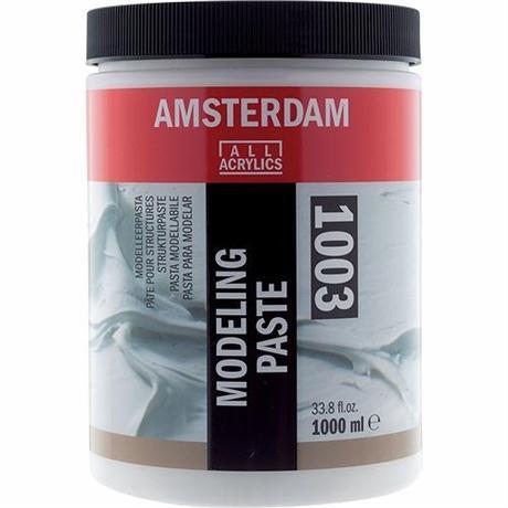 Amsterdam Acrylic Modeling Paste 1000ml Image 1