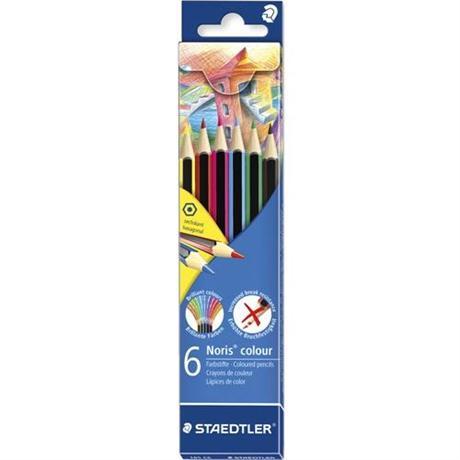 Noris Colour Pencils Set Of 6 Image 1