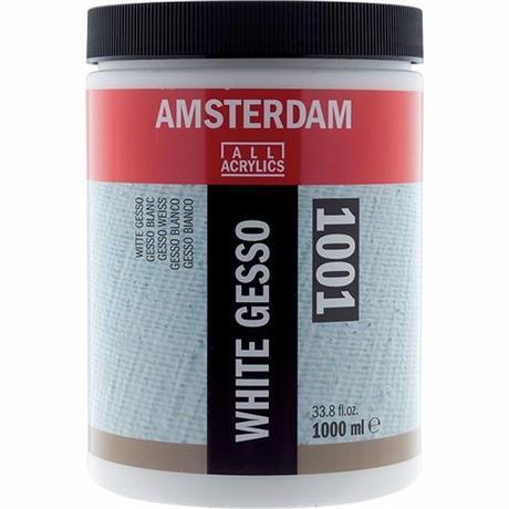 Amsterdam Acrylic White Gesso Image 1