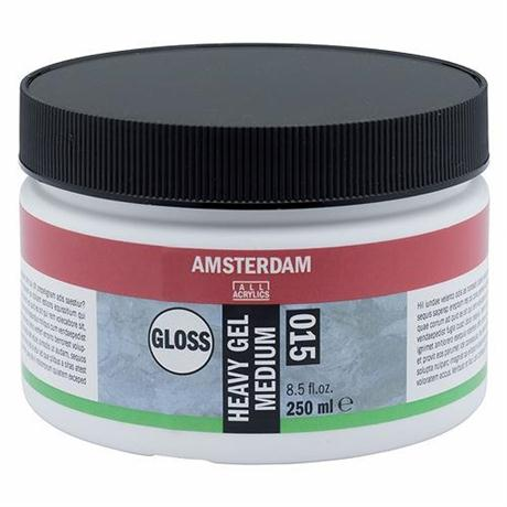 Amsterdam Acrylic Heavy Gloss Gel Medium Image 1