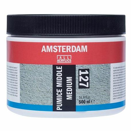 Amsterdam Acrylic Pumice Middle Medium Image 1