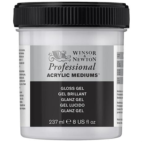 Winsor & Newton Artists' Acrylic Gloss Gel Medium Image 1