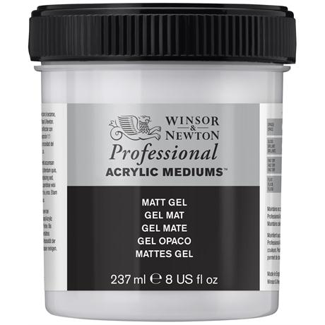 Winsor & Newton Artists' Acrylic Matt Gel Medium Image 1