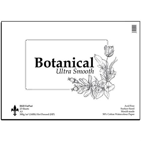Botanical Ultra Smooth Fat Pads 300gsm Image 1
