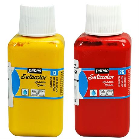 Pebeo Setacolor Fabric Paint Opaque Colours 250ml Image 1