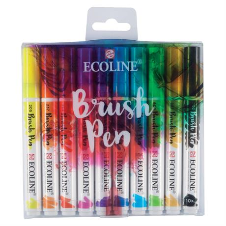Ecoline Brush Pen Set of 10 Image 1