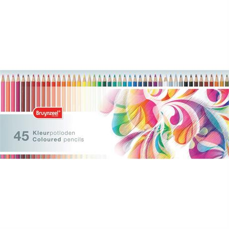 Bruynzeel Colourful 45 Coloured Pencil Set Image 1