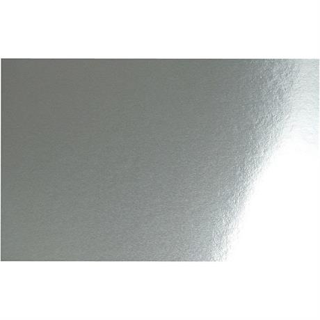 Double-sided Metallic Foil Card A4 Silver Pack of 10 280gsm Image 1