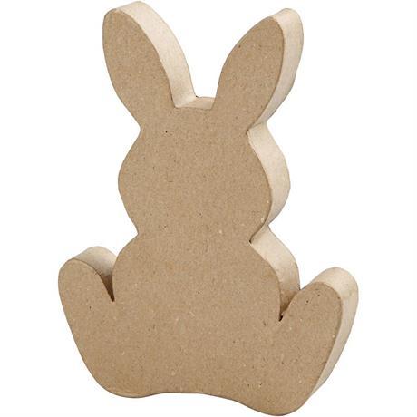 Papier-Mache Easter Bunny Image 1