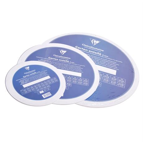 Clairefontaine Round Canvas Boards Image 1