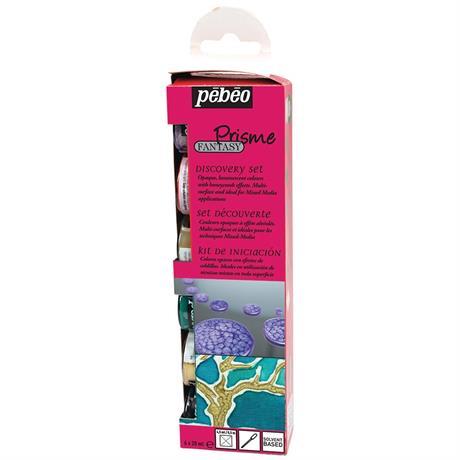 Pebeo Fantasy Prisme Discovery Set 6 x 20ml Image 1