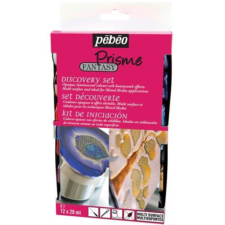 Pebeo Fantasy Prisme Discovery Set 12 x 20ml Image 1