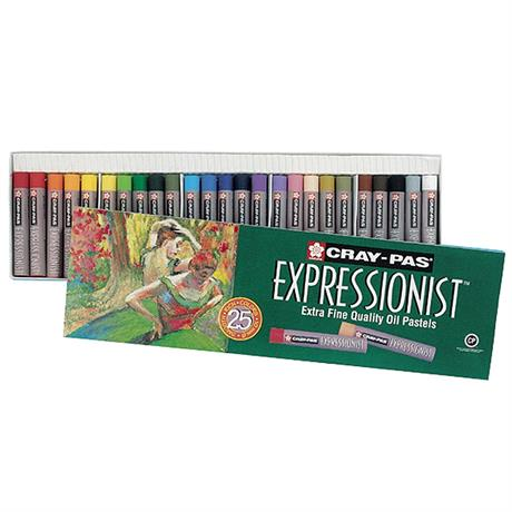 Cray-Pas Expressionist Oil Pastels Set Of 25 Image 1