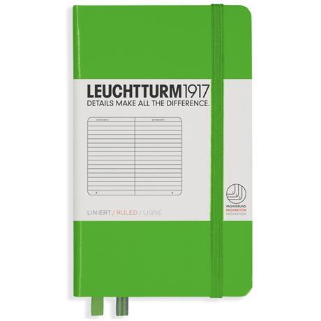 Leuchtturm Pocket Ruled Notebooks Image 1