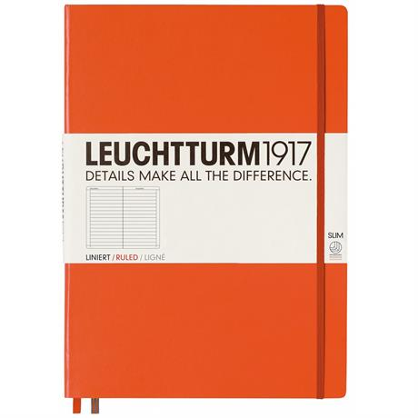 Leuchtturm Master Slim Ruled Notebooks Image 1