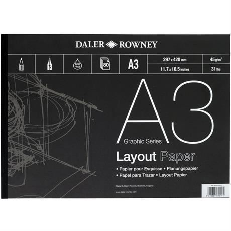 Daler Rowney 45gsm Layout Pads Image 1