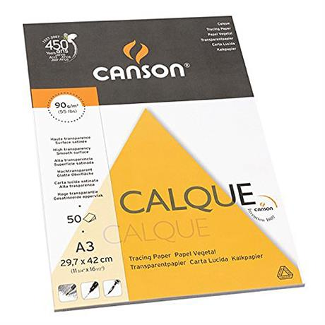 Canson Tracing Pads 90gsm Image 1