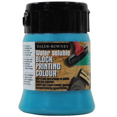 Daler Rowney Water Soluble Block Printing Ink 250ml Image 1