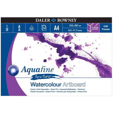 Daler Rowney Aquafine Watercolour Artboard Pads Image 1
