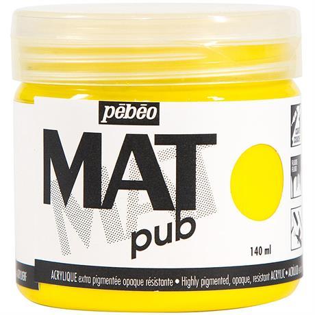 Pebeo MAT Pub Acrylic Paint 140ml Image 1