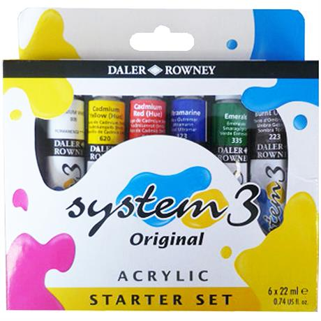 System 3 Acrylic Starter Set Image 1