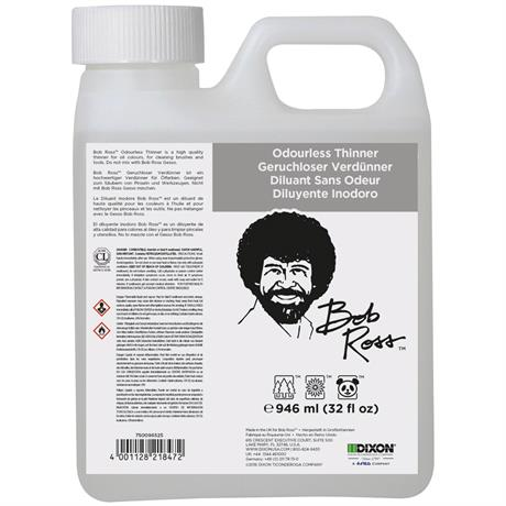 Bob Ross Odourless Thinner 946ml Image 1
