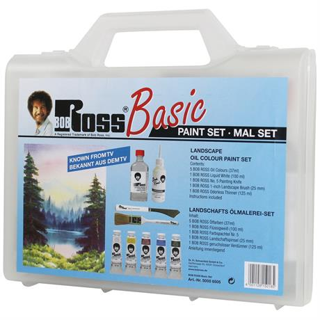 Bob Ross Basic Paint Set Image 1