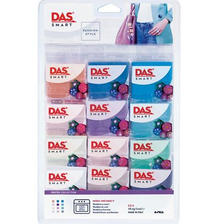 DAS Smart Modelling Clay Pastel Set Image 1